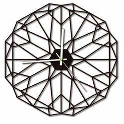 Sentop - MDF Wall clock for living room HDKF017 and black