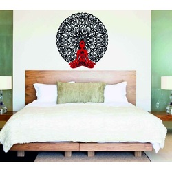 Sentop - 3D Picture on the wall Buddha in mandala 50, 70, 90 cm
