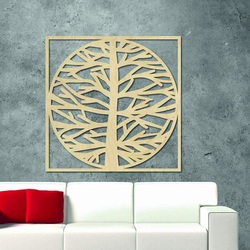 Sentop - Picture on the wall of a tree in a frame  MRLVEN A