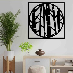 Stylesa - Modern wall painting made of plywood LLUTF PR0380-A