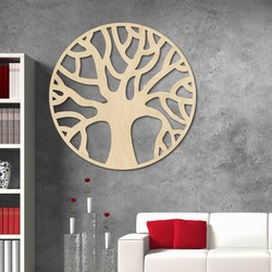 Stylesa - Modern wooden painting on the wall made of POCCITT PR0384 plywood