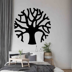 Stylesa - Modern wooden painting on the wall made of POCCITT PR0384-B plywood