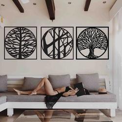 Stylesa - 3 piece painting on the wall DESIRROO
