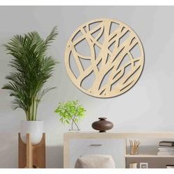 Sentop - Wooden painting on a circle wall FOHOLHH