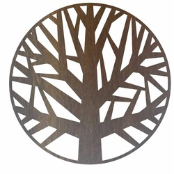 Sentop - Wooden painting on the wall of a tree made of plywood GOGFOG