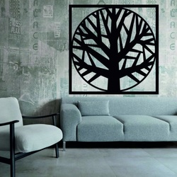 Sentop - Modern painting on the wall, wooden decoration OMARF