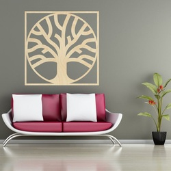 Sentop - Modern painting on the wall plywood - wooden decoration MOARKO