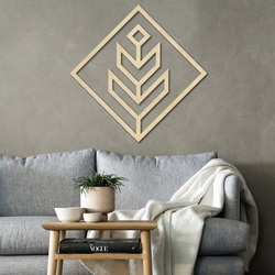 Modern painting on the wall - wooden decoration square DALYO | SENTOP