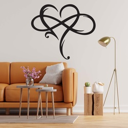 Sentop - Wooden painting on the wall of infinite love