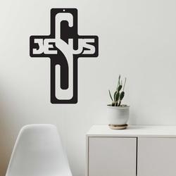 Wooden decoration - Jesus, size-260x187 mm