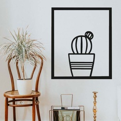 Modern painting on the wall - CACTUS ALDER | SENTOP