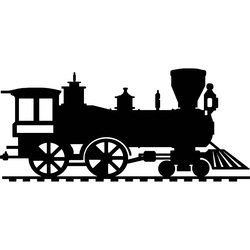 Wooden painting on the wall - Train SANTE | SENTOP