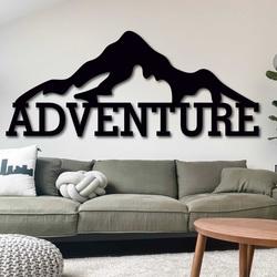 Laser cut wood wall decor - ADVENTURE | SENTOP