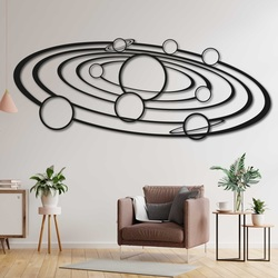 Modern  wooden wall decor solar system -  SOLAR | SENTOP
