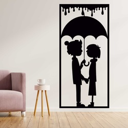 Romantic picture on the wall of a loving couple -  LOVE | SENTOP