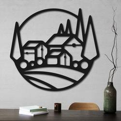 copy of Wooden wall decor houses - MOLDE | SENTOP