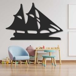 Laer cut wall woode decor sailboat - MARINER | SENTOP