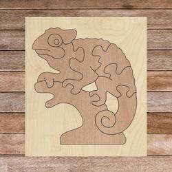 Bicolor wooden montessori insert for children - CHAMELEON BEECH | SENTOP