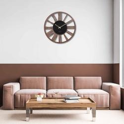 Wooden wall clock Roman numerals - Sentop | wenge nut