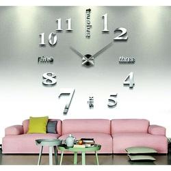 3D adhesive wall clocks - Big sevens