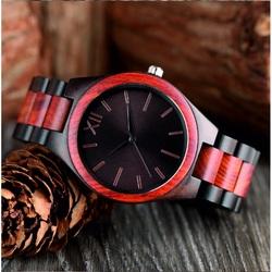 Wooden Wristwatch-Roman Twelfth-Yisuya