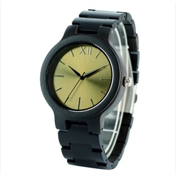 Wooden Wristwatch- Golden twelve-Yisuya