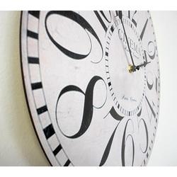 Hours of cinema MDF wood. Fi 34 cm