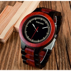 Wristwatch from wood - COMP