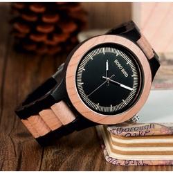 Stylish wristwatch from wood - ASTOR