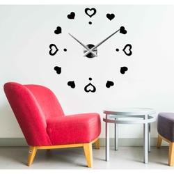 Wall clock big heart DIY LENKA
