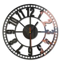 Beautiful wall clock made of plastic - Time machine