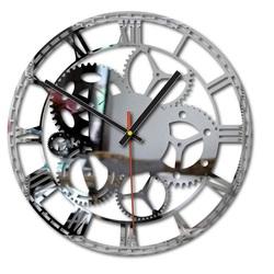 Plastic Wall Clock - Flumo