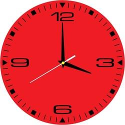 Stylish wall clock HDF
