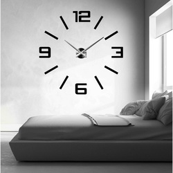 Large 3D Wall Clock Colorful - Kelsey
