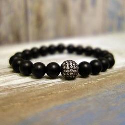 Bracelet with zircons - EDINA