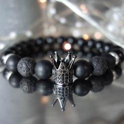 Bracelet with zircons - DAREL