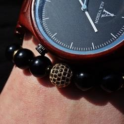 Bracelet with zircons - DAVIS