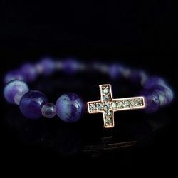Bracelet with zircons - ESTEVAN