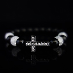 Bracelet with zircons - ABBY