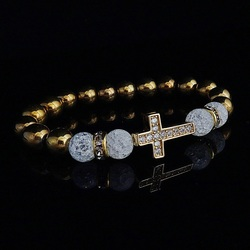 Bracelet with zircons - BONA