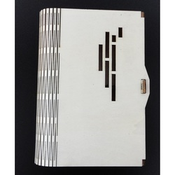 Krabička jako dekorace vyrobená ze dřeva, rozměr: 17,5x12x3 cm