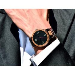 Elegant wooden wristwatch-GEORGIA-Yisuya