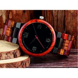 Modern wristwatch made of wood-GEORGIA-Yisuya