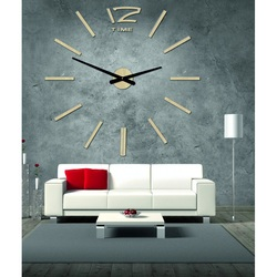 Wooden wall clock made of plywood - Honeyx
