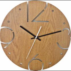 Wall clock made of HDF - BARDOT
