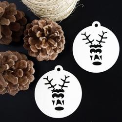 Christmas decoration for Christmas-Sob, size: 79x90 mm