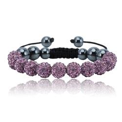 Shamballa bracelet - PINK ELI