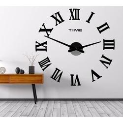 Wall Clock MAXI PLEXI - Roman Numbers 2D