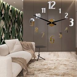 Stylesa Wall clock stick DAVOS XXL P024 also black