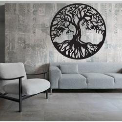 Dřevěná dekorace strom života POHODA